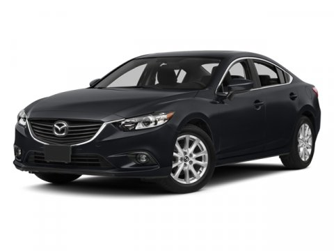 2014 Mazda Mazda6 i Sport Jet Black Mica V4 25 L Manual 7 miles  Front Wheel Drive  Power Ste