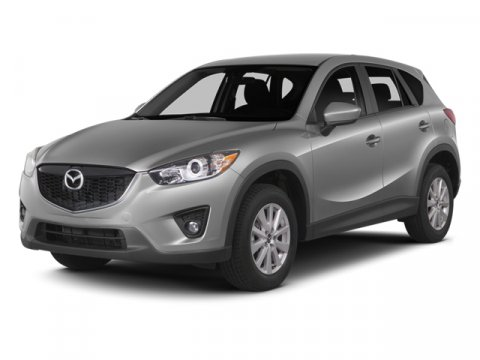 2014 Mazda CX-5 Touring Soul Red MetallicBlack V4 25 L Automatic 5 miles  BLACK CLOTH SEAT TRI