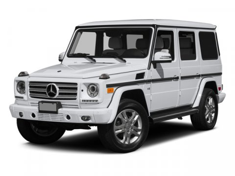 2014 Mercedes G-Class G550 4MATIC BlackDSGNO BLK NPPA V8 55 L Automatic 25 miles The G550 is a