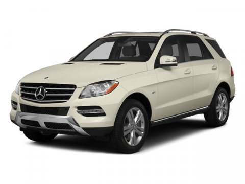 2014 Mercedes M-Class ML350 Steel Gray MetallicAlmond Beige V6 35 L Automatic 4772 miles  BRUS