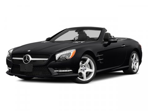 2014 Mercedes SL-Class SL550 Diamond White MetallicBlack Exclu V8 47 L Automatic 0 miles  DRIV