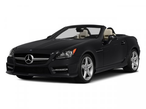 2014 Mercedes SLK-Class SLK250 Roadster Polar WhiteBLACK TEX V4 18 L Automatic 9 miles Race in
