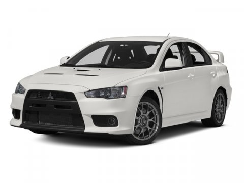 2014 Mitsubishi Lancer Evolution MR Wicked WhiteBlack V4 20 L Automatic 5 miles All New 2014 L