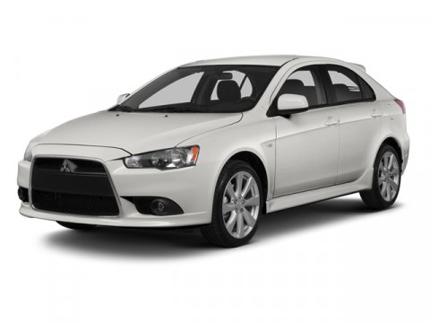 2014 Mitsubishi Lancer Sportback GT Wicked White MetallicBlack V4 24 L Variable 5 miles  CHROM