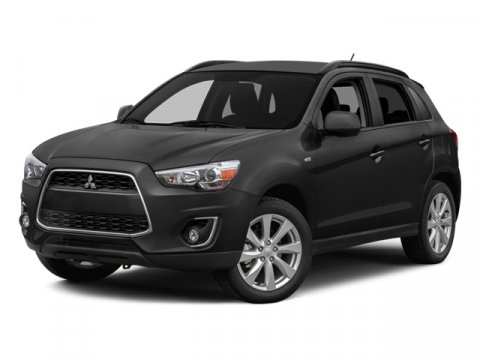 2014 Mitsubishi Outlander Sport SE White PearlBlack V4 20 L Variable 5 miles  ACCESSORY BLACK