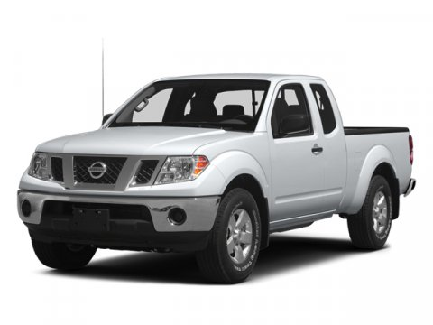 2014 Nissan Frontier S Glacier WhiteWSTEEL V4 25 L Manual 5 miles  A92 UNDER RAIL BED LINER