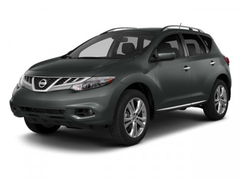 2014 Nissan Murano Super Black V6 35 L Variable 26883 miles  All Wheel Drive  Power Steering