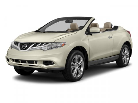 2014 Nissan Murano CrossCabriolet Super Black V6 35 L Variable 10 miles  All Wheel Drive  Rol