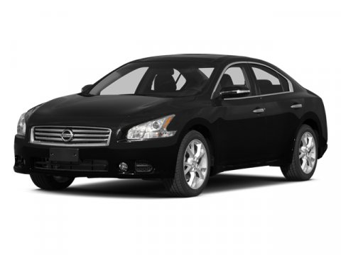 2014 Nissan Maxima Super BlackCharcoal V6 35 L Variable 5 miles With an aggressive silhouette