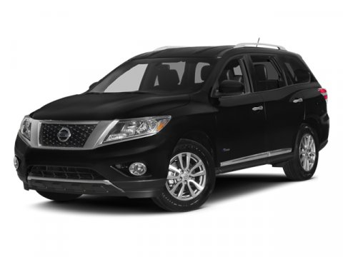 2014 Nissan Pathfinder Platinum Hybrid Super BlackG V4 25 L Variable 9 miles  B92 BLACK SPLA