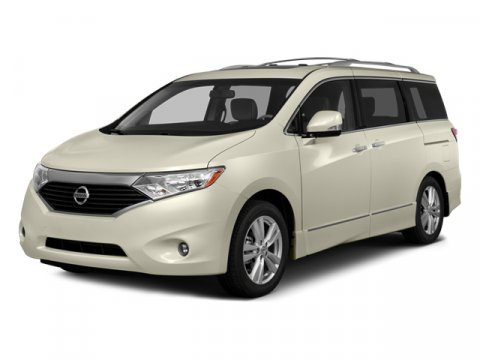 2014 Nissan Quest S White PearlKGRAY V6 35 L Variable 4 miles  B10 ROOF RAILS  B94 ROOF
