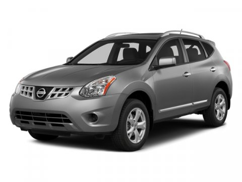 2014 Nissan Rogue Select S Brilliant SilverKGRAY V4 25 L Variable 7 miles  B93 REAR BUMPER