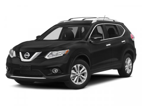 2014 Nissan Rogue SV Moonlight White V4 25 L Variable 1 miles  All Wheel Drive  Rollover Prot