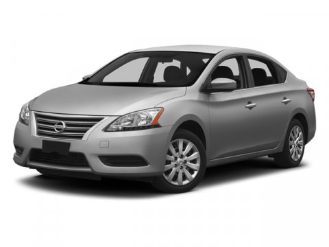 2014 Nissan Sentra S Brilliant SilverCharcoal V4 18 L Variable 0 miles  H92 BLUECONNECT BLUE