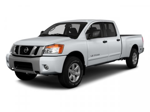 2014 Nissan Titan SV Galaxy Black Metallic V8 56 L Automatic 10 miles  Four Wheel Drive  Powe