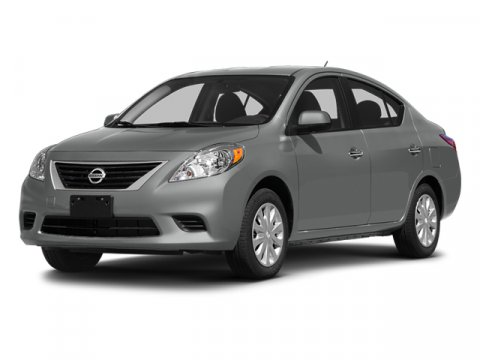 2014 Nissan Versa SV Brilliant Silver V4 16 L Variable 4 miles  All Nissan Rebates NMAC Reba