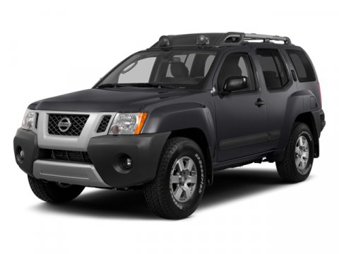 2014 Nissan Xterra X 4X4 WhiteGray V6 40 L Automatic 48907 miles One Owner White with Grey C