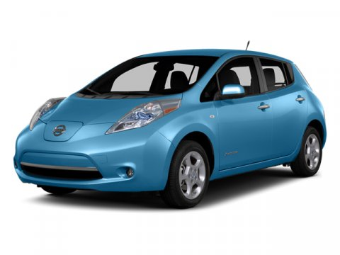 2014 Nissan LEAF S Blue OceanGBLACK V 00 Automatic 10 miles  B10 SPLASH GUARDS  F01 CHAR
