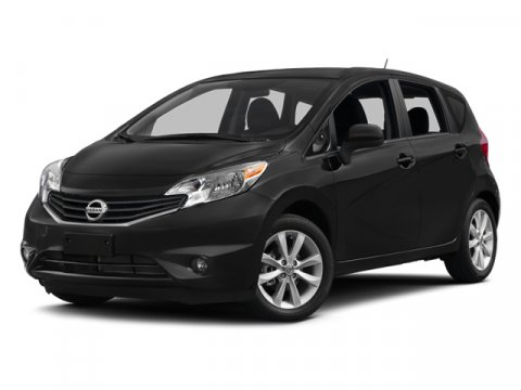 2014 Nissan Versa Note S Plus Red Brick MetallicCharcoal V4 16 L Variable 0 miles  B94 REAR