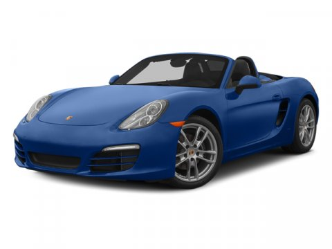 2014 Porsche Boxster RHODIUM SLVRBLPLATINUM GREY V6 27 L Automatic 7 miles  Rear Wheel Drive