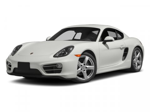 2014 Porsche Cayman WhiteBLACK V6 27 L Manual 204 miles  Rear Wheel Drive  Power Steering  A