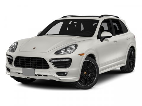 2014 Porsche Cayenne GTS WhiteLuxor Beige V8 48 L Automatic 60 miles  All Wheel Drive  Air Su