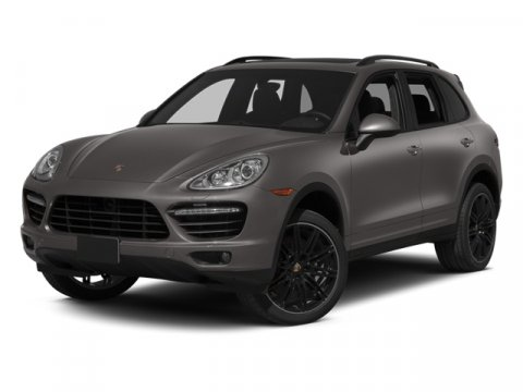 2014 Porsche Cayenne Turbo BlackBLK LTHR CARRER V8 48 L Automatic 12 miles  Turbocharged  All