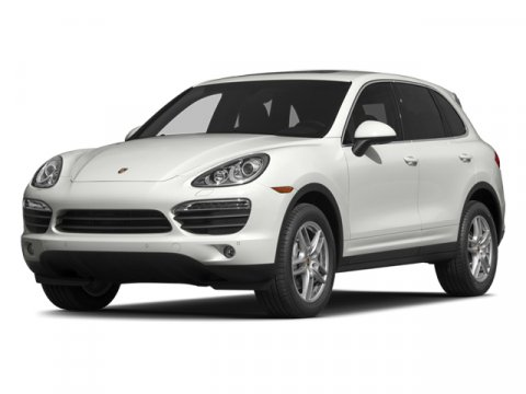 2014 Porsche Cayenne Platinum Edition WhiteStndrd Blk Lxr V6 36 L Automatic 9 miles  All Wheel