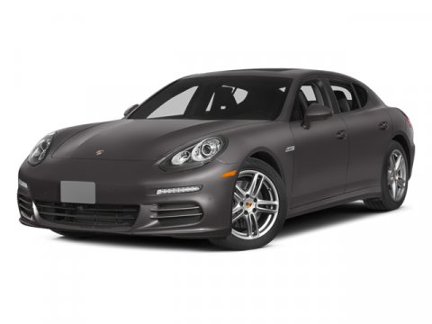 2014 Porsche Panamera Dark Blue MetallicBeige V6 36 L Automatic 209 miles  Power Steering  AB