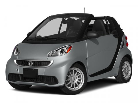 2014 Smart fortwo Passion Convertible Crystal WhiteCrystal Gray V3 10 L Automatic 6440 miles