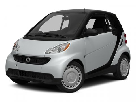 2014 Smart fortwo Passion Silver Metallic V3 10 L Automatic 8 miles  COMFORT PACKAGE -inc Lea