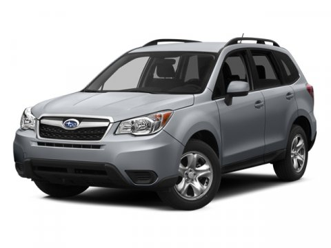 2014 Subaru Forester 25i Premium Satin White Pearl V4 25 L Manual 0 miles  CARGO TRAY -inc P