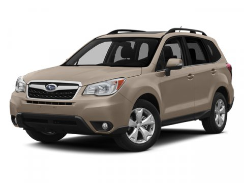 2014 Subaru Forester 25i Premium Ice Silver Metallic V4 25 L Variable 110196 miles Check out