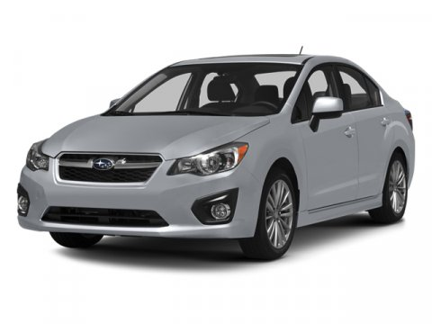 2014 Subaru Impreza Sedan Premium Ice Silver Metallic V4 20 L Variable 0 miles  BLACK CENTER C