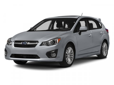 2014 Subaru Impreza Wagon 20i Premium Satin White PearlTaupe V4 20 L Variable 5 miles  ALL WE