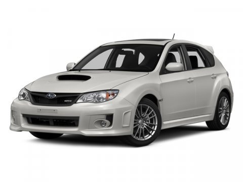 2014 Subaru Impreza Wagon WRX WRX Satin White PearlDARK GRAY V4 25 L Manual 5 miles  ALL WEATH