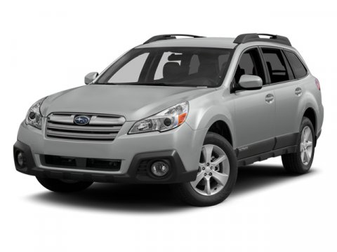 2014 Subaru Outback 25i Limited Satin White PearlTaupe V4 25 L Variable 7 miles   Stock SZ