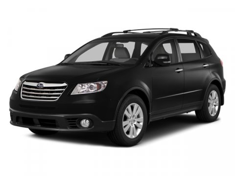 2014 Subaru Tribeca Limited Crystal Black SilicaBeige V6 36 L Automatic 5 miles  ALL WEATHER F