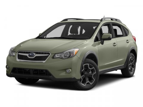 2014 Subaru XV Crosstrek Premium Satin White PearlTaupe V4 20 L Variable 0 miles  AERO CROSS B