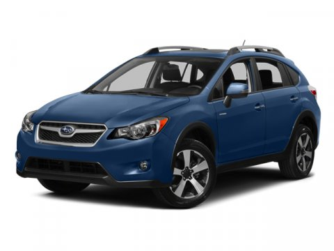 2014 Subaru XV Crosstrek Hybrid Quartz Blue PearlTaupe V4 20 L Variable 0 miles  ALL WEATHER F