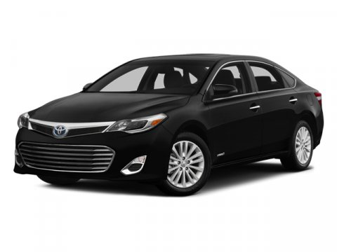 2014 Toyota Avalon Hybrid XLE Premium Sizzling Crimson MicaBlack V4 25 L Variable 0 miles  CAR