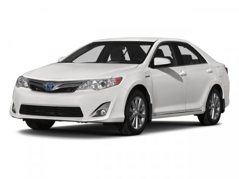 2014 Toyota Camry Hybrid XLE Super WhiteLight Gray V4 25 L Variable 0 miles  BLIND SPOT MONITO