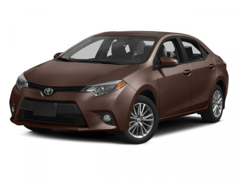 2014 Toyota Corolla LE Barcelona Red MetallicSteel Gray V4 18 L Variable 7299 miles Carfax Ce