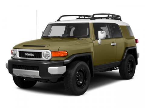 2014 Toyota FJ Cruiser SR V6 Army GreenDark Charcoal V6 40 L Automatic 74 miles  Four Wheel Dr