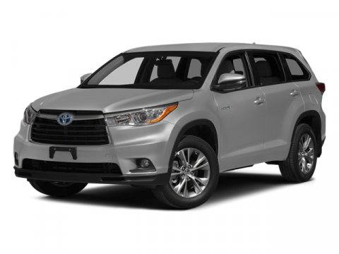 2014 Toyota Highlander Hybrid Limited Platinum Silver Sky MetallicBlack V6 35 L Variable 0 mile