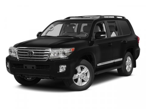 2014 Toyota Land Cruiser L Classic Silver MetallicBLACK V8 57 L Automatic 5 miles After 60 yea