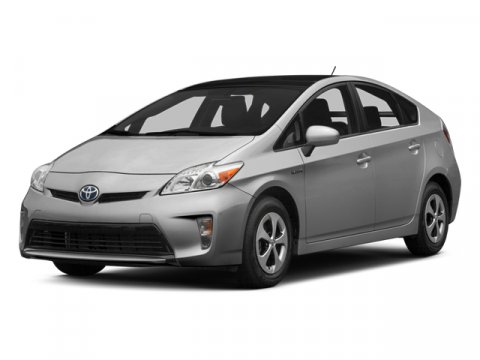 2014 Toyota Prius Two Sea Glass PearlASH FABRIC SEAT TRIM V4 18 L Variable 80 miles  Front Whe