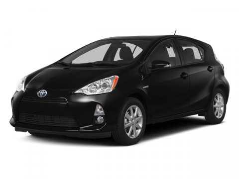 2014 Toyota Prius c Two Black Sand PearlLight Blue GrayBlack V4 15 L Variable 0 miles  CARPET