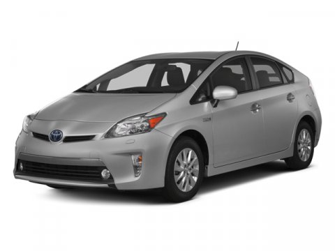 2014 Toyota Prius Plug-In Classic Silver MetallicDark Gray V4 18 L Variable 0 miles  CARPET FL