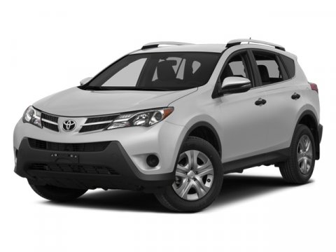 2014 Toyota RAV4 XLE Super White V4 25 L Automatic 12 miles  All Wheel Drive  Power Steering